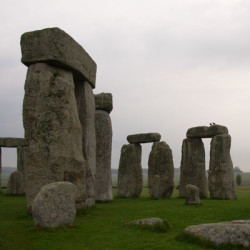 Photo at Stonehenge taken by Anna Peltier
