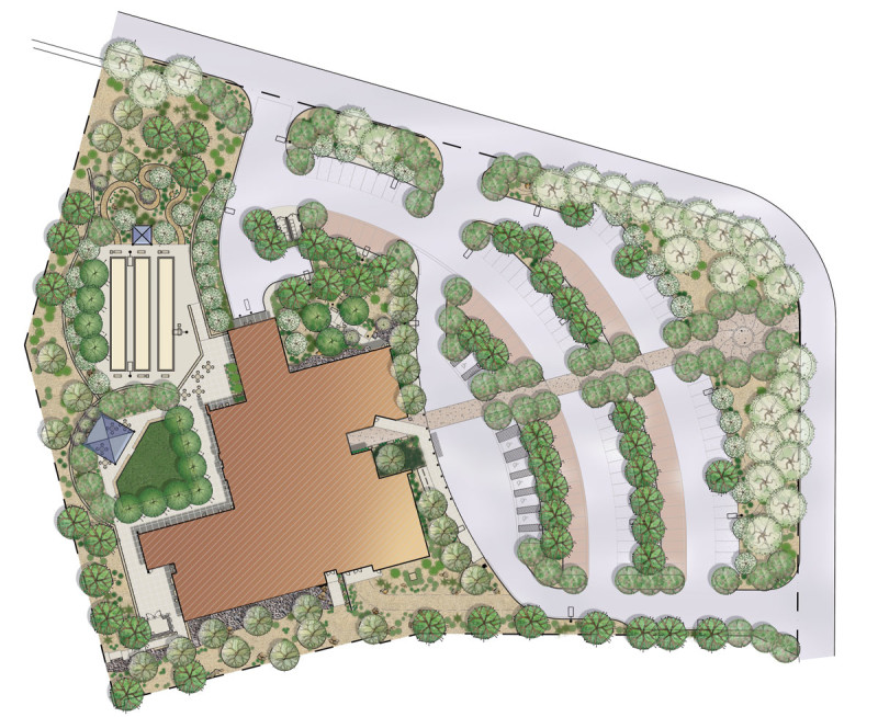 City of Henderson Senior Facility rendered site plan